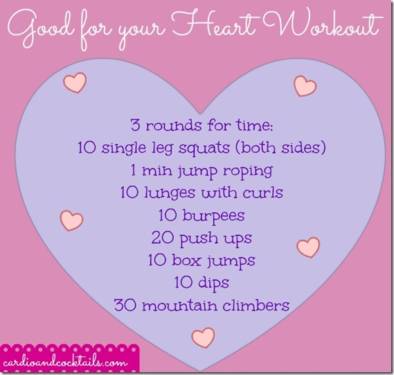 Hearts Workout